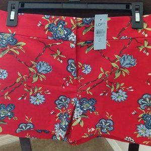 🆕 NWT Loft Floral Shorts